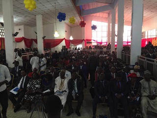 graduation ceremony was held in Lagos on 17th November 2017